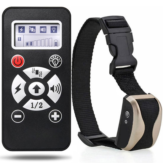800 Yards Remote Dog Training Collar with Waterproof and Rechargeable
