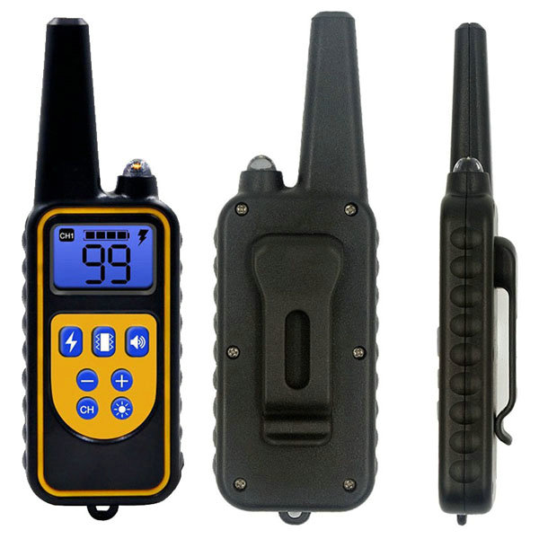 dog training collar 800M remote rechargeable and waterproof dog trainer